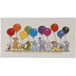 Dopminne - Djur med ballonger