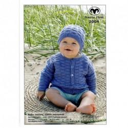 Babykofta och mössa - Baby Merino
