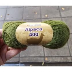 Alpaca 400 färg 1285 - Grön