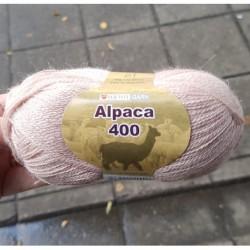 Alpaca 400 färg 6995 - Gammelrosa