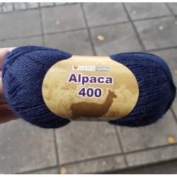 Alpaca 400 färg 1660 - Marinblå