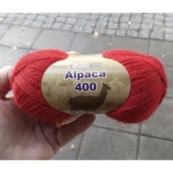 Alpaca 400 färg 2060 - Klarröd
