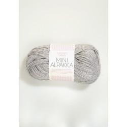 Mini Alpakka ljusgrå 1032