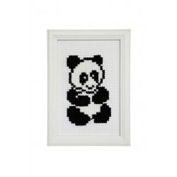 Enklare broderi - Panda