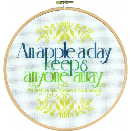Broderi - An apple a day...