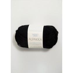 Alpakka - Svart - 1099