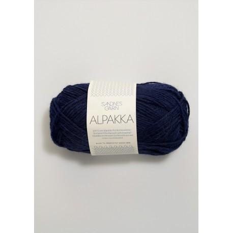 Alpakka - Marinblå - 5575