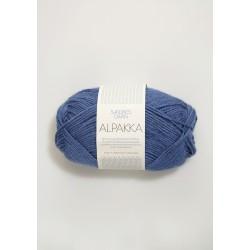 Alpakka - Blå - 6053