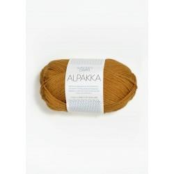Alpakka - Senapsgul - 2335
