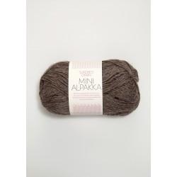 Mini Alpakka - Mellanbrun - 2652
