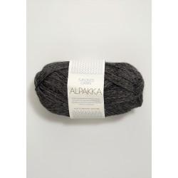 Alpakka - Mörkgrå - 1053