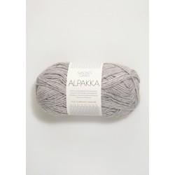 Alpakka - Ljusgrå - 1032