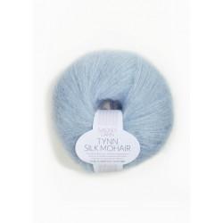 Tynn Silk Mohair - Ljusblå - 6012