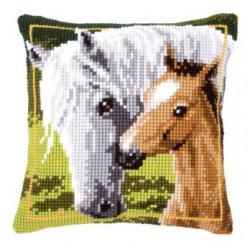 Kudde med hästar