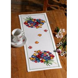 Löpare - Färgglada Blommor