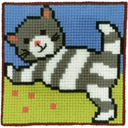Barnstramalj Katt